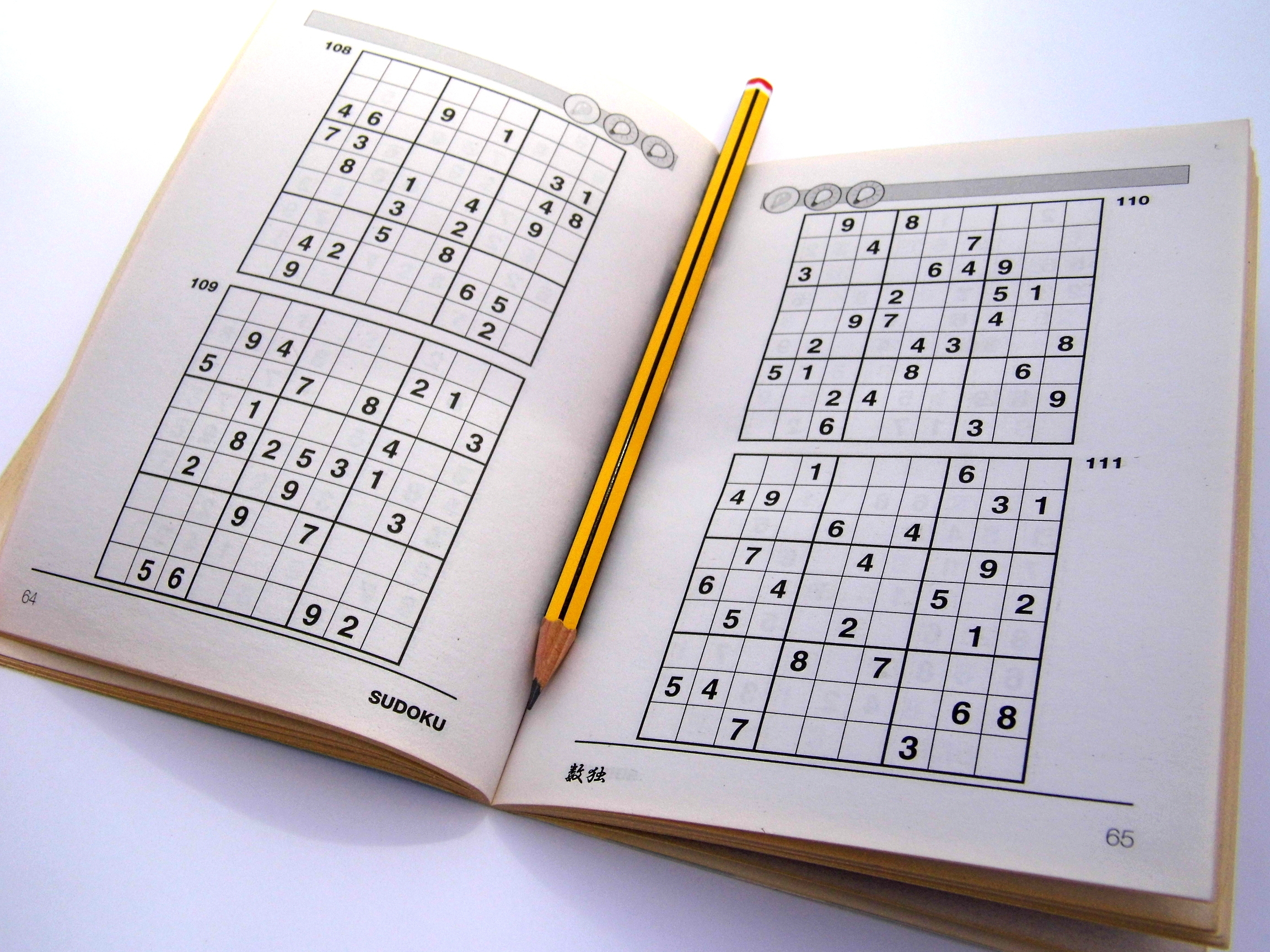 Archive Puzzles – 24 Hard Sudoku Puzzles – Books 1 To 10