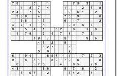 Printable 5×5 Sudoku
