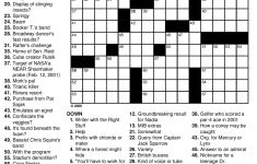 Best Medium Hard Crossword Puzzles Printable | Mitchell Blog