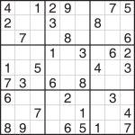 Blank Sudoku Grid Fill Online   Tomope.zaribanks.co