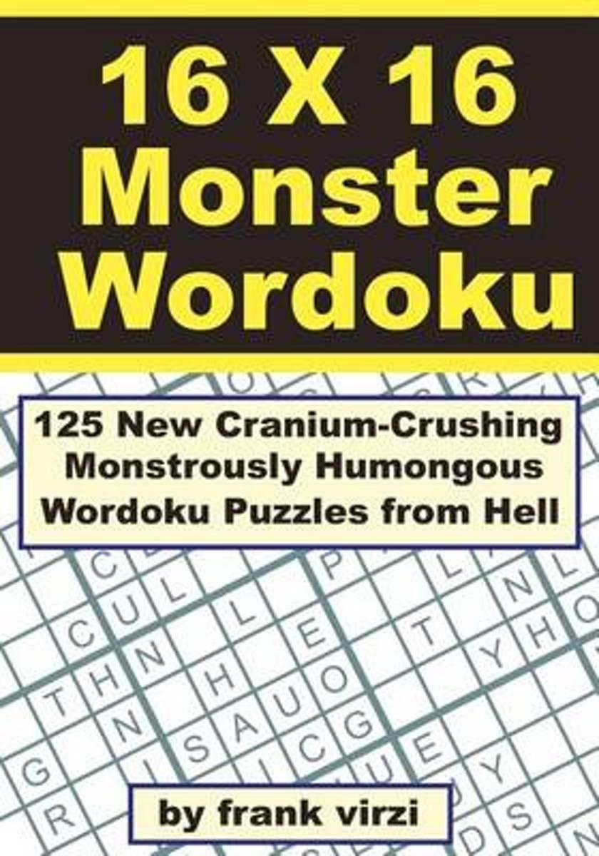 Bol | 16 X 16 Monster Wordoku | 9781463748197 | Frank