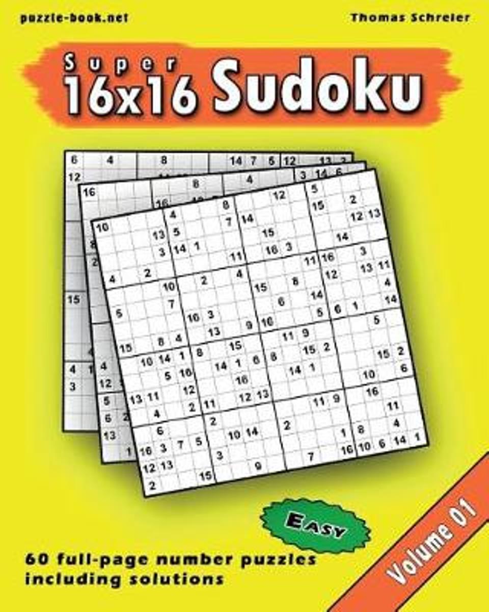 Bol   16X16 Super Sudoku, Thomas Schreier