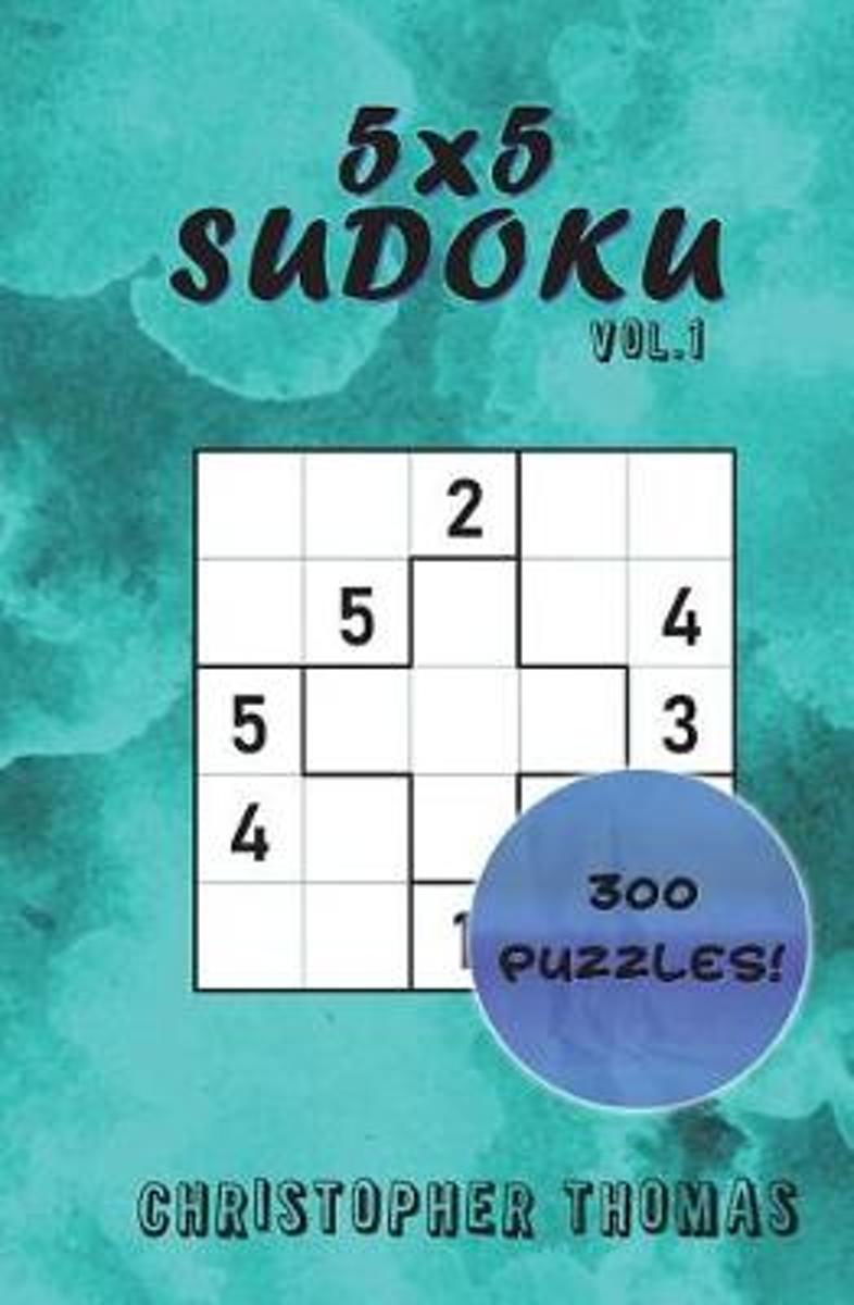 Bol | 5X5 Sudoku Vol.1, Christopher Thomas