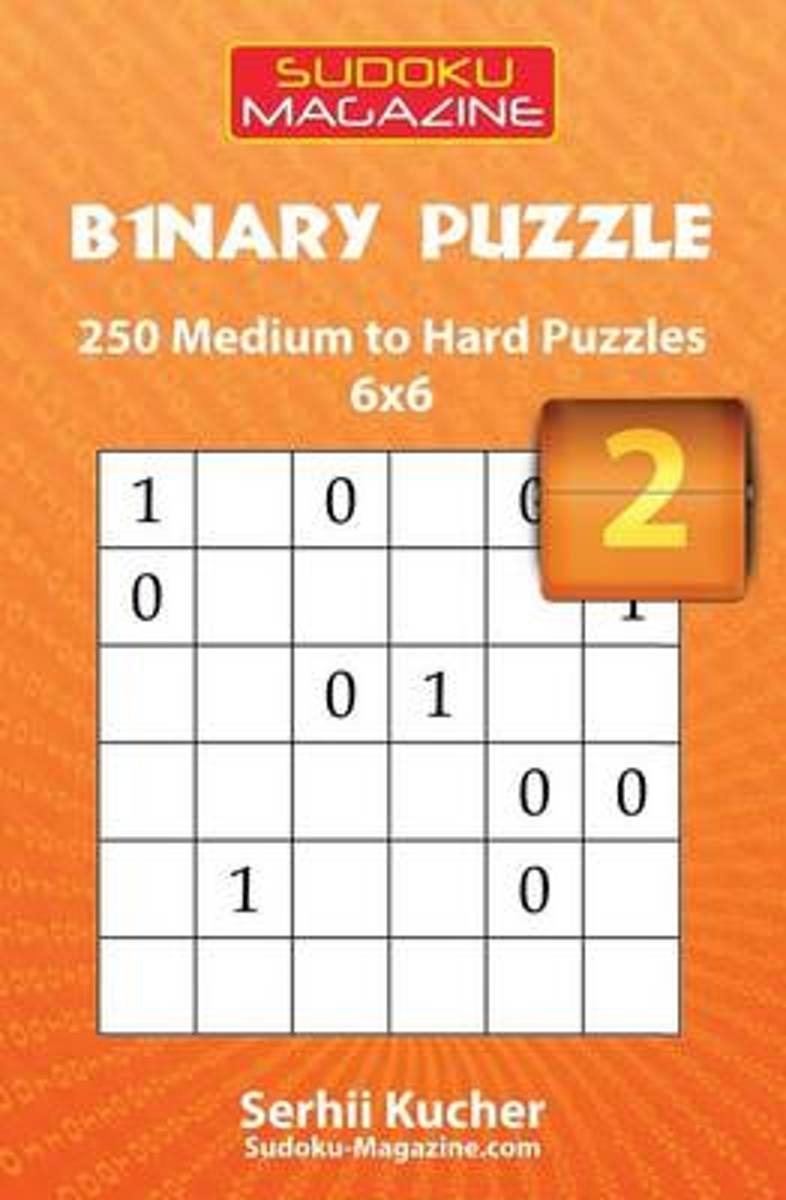 Bol | Binary Puzzle - 250 Easy To Medium Puzzles 6X6