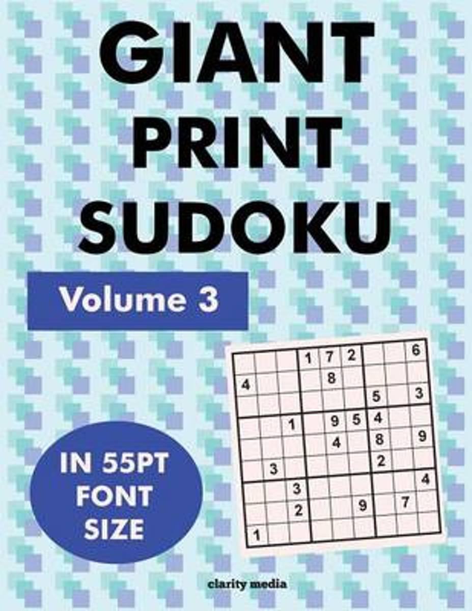 Bol | Giant Print Sudoku Volume 3 | 9781517410605