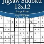 Bol | Jigsaw Sudoku 12X12 Large Print   Easy To Extreme