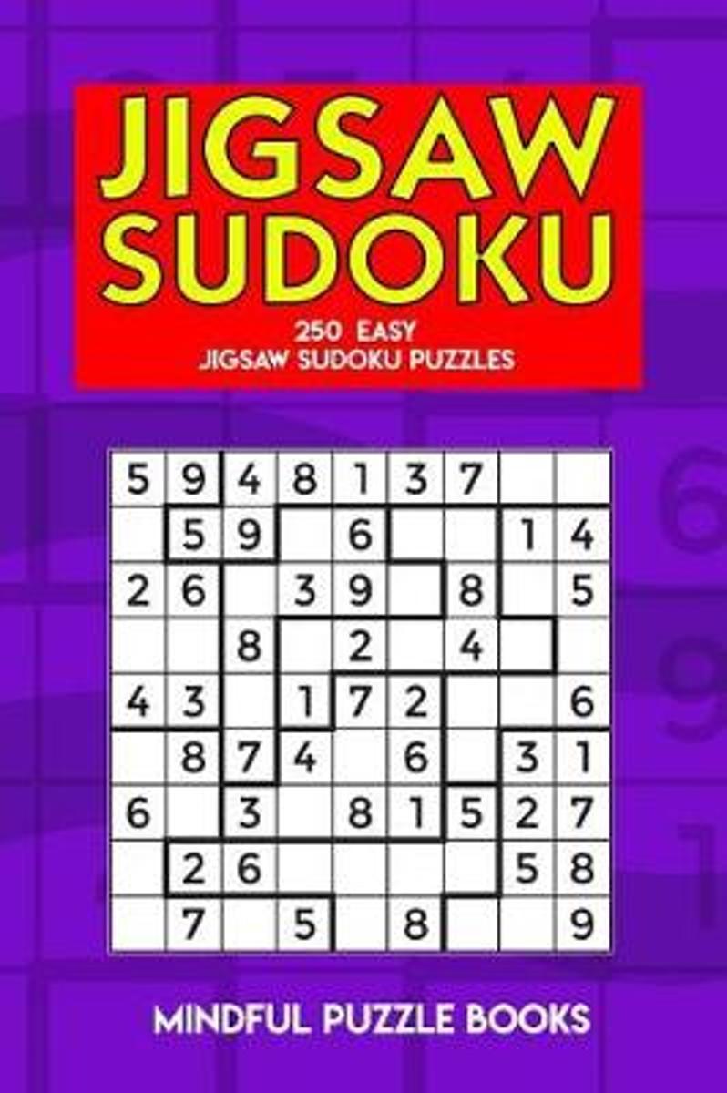 Bol | Jigsaw Sudoku, Mindful Puzzle Books