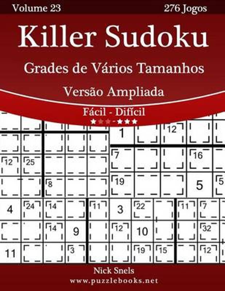 Bol | Killer Sudoku Grades De V Rios Tamanhos Vers O
