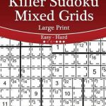 Bol | Killer Sudoku Mixed Grids Large Print   Easy To
