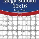 Bol   Mega Sudoku 16X16 Large Print   Easy   Volume 57