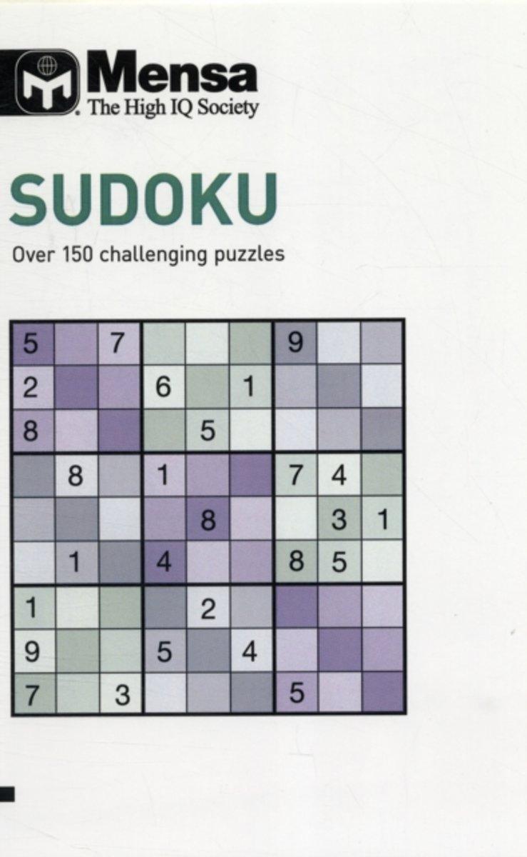 Bol | Mensa Sudoku, Tim Dedopulos | 9781780970233 | Boeken