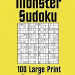 Bol | Monster Sudoku 100 Large Print Easy Puzzles, Kit