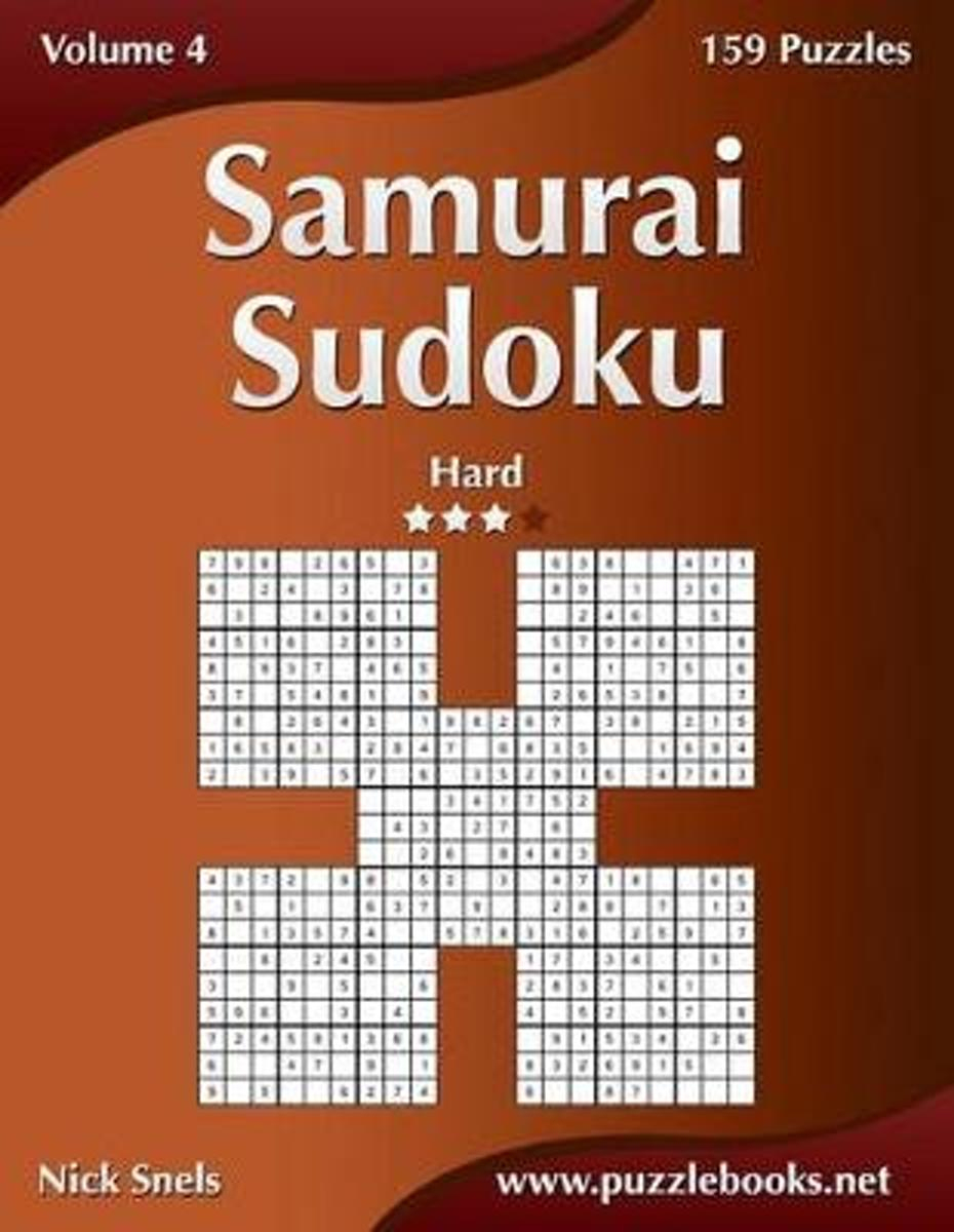 Bol | Samurai Sudoku - Hard - Volume 4 - 159 Puzzles