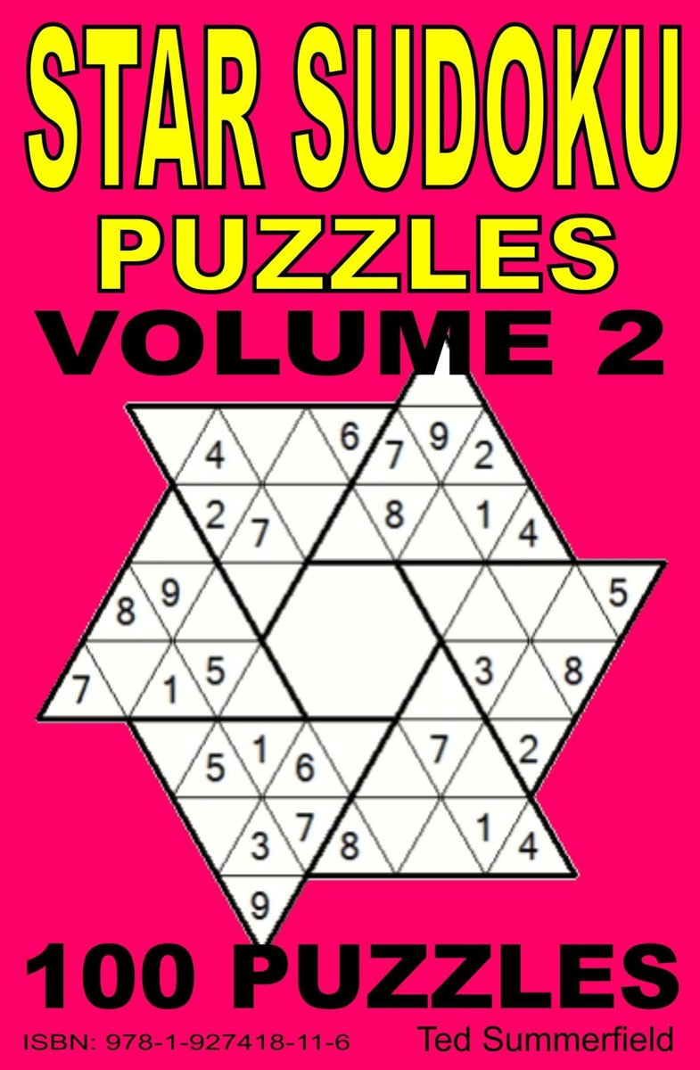 Bol | Star Sudoku Puzzles. Volume 2. (Ebook), Ted