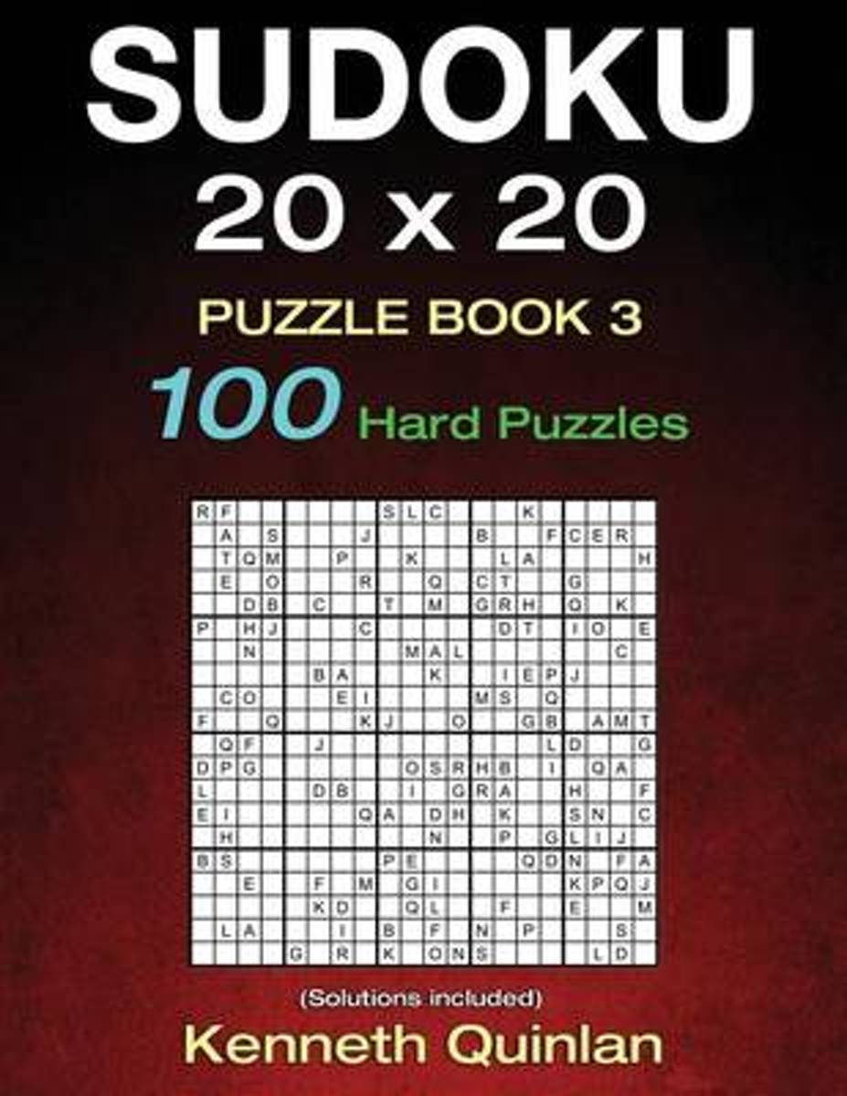 Bol | Sudoku 20 X 20 Puzzle Book 3, Kenneth Quinlan