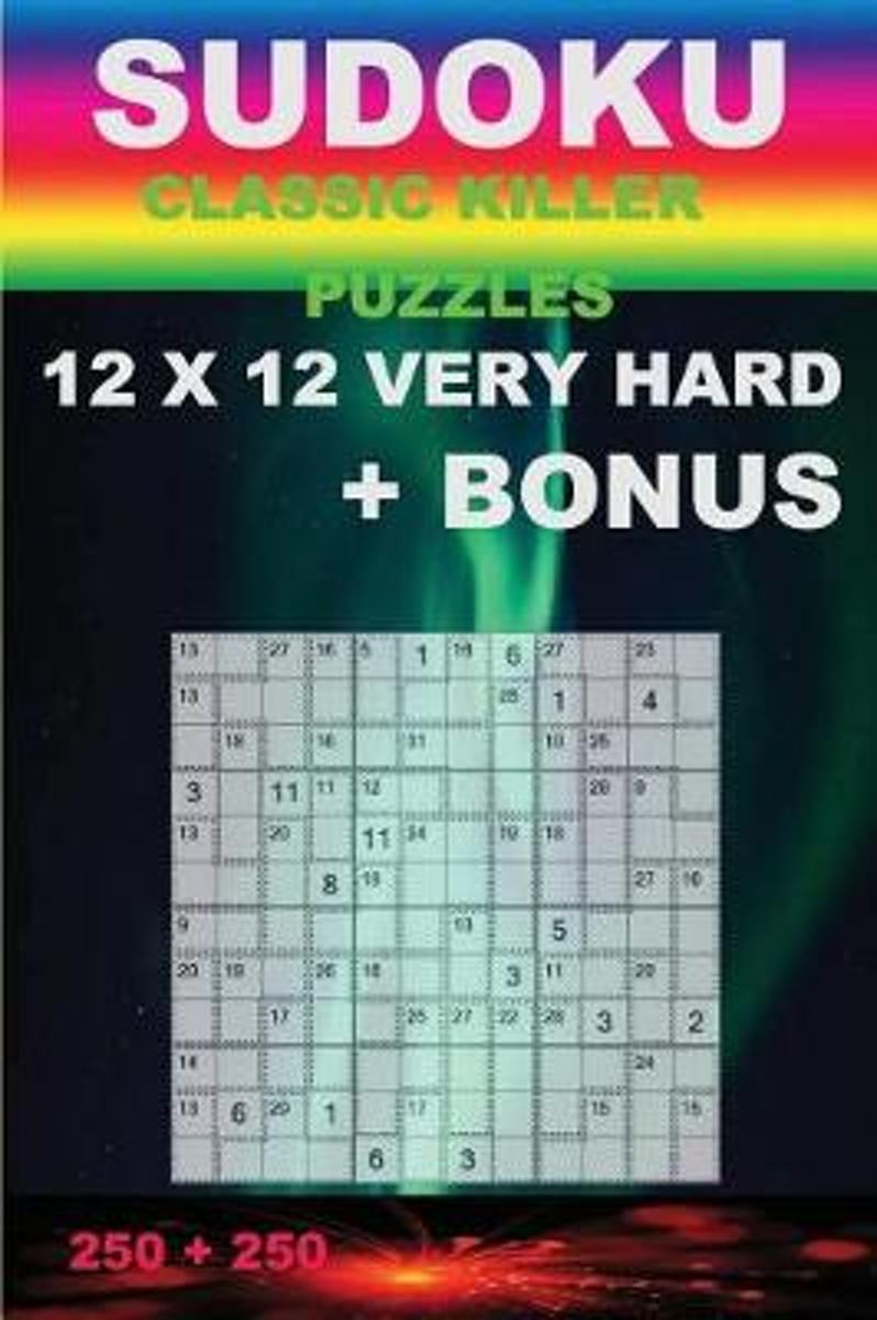 Bol | Sudoku - Classic Killer Puzzles 12 X 12 Very Hard