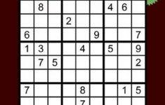 Sudoku Printable Hard Level