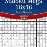 Bol   Sudoku Mega 16X16 Impresiones Con Letra Grande