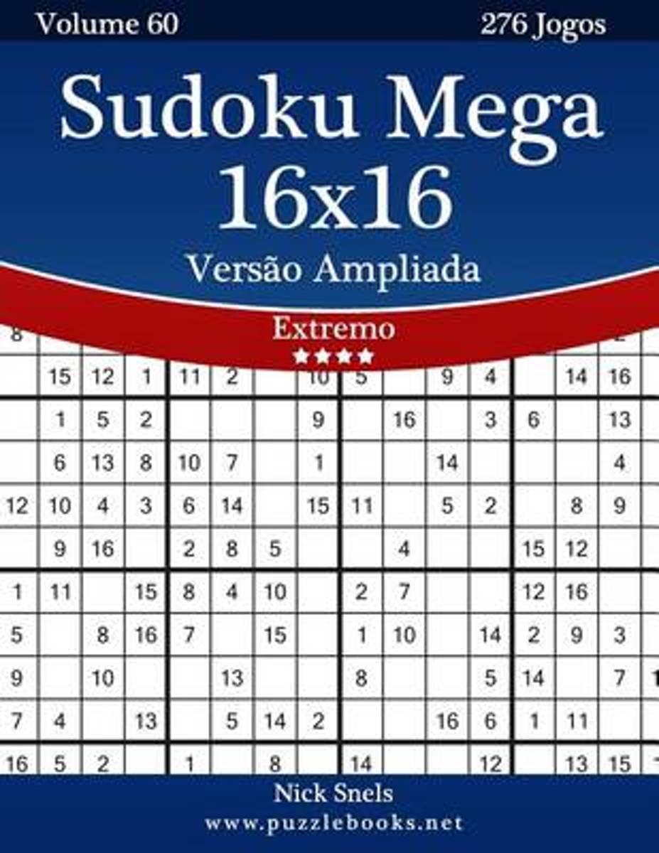 Bol | Sudoku Mega 16X16 Vers O Ampliada - Extremo