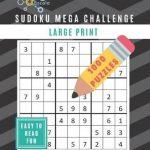 Bol | Sudoku Mega Challenge 1000 Puzzles   Large Print