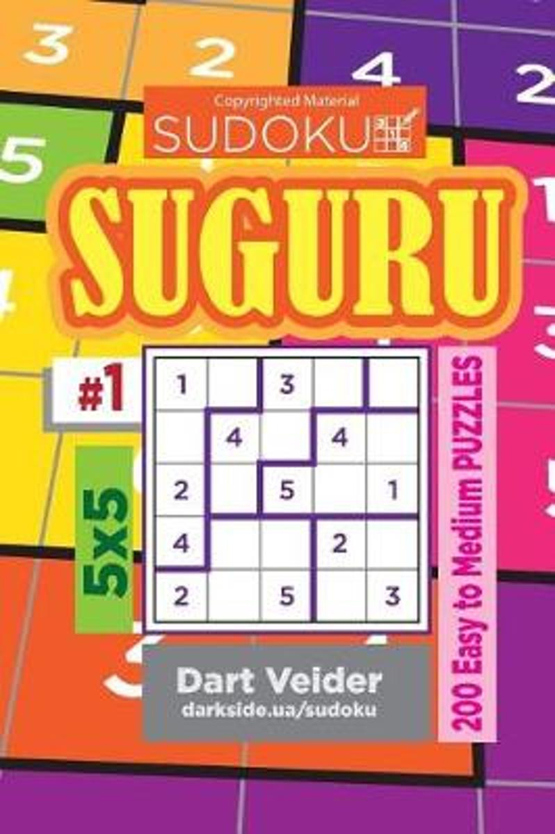 Bol | Sudoku Suguru - 200 Easy To Medium Puzzles 5X5