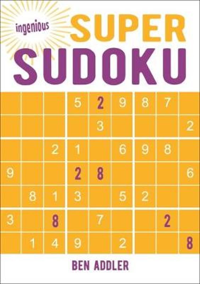 Bol | Super Sudoku, Ben Addler | 9781789501186 | Boeken