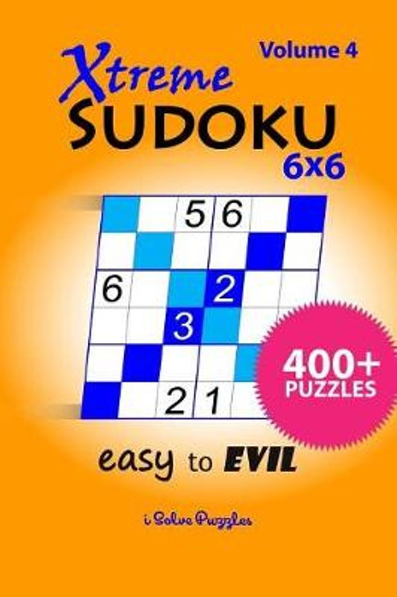 Bol | Xtreme Sudoku 6X6 Easy To Evil, Isolvepuzzles