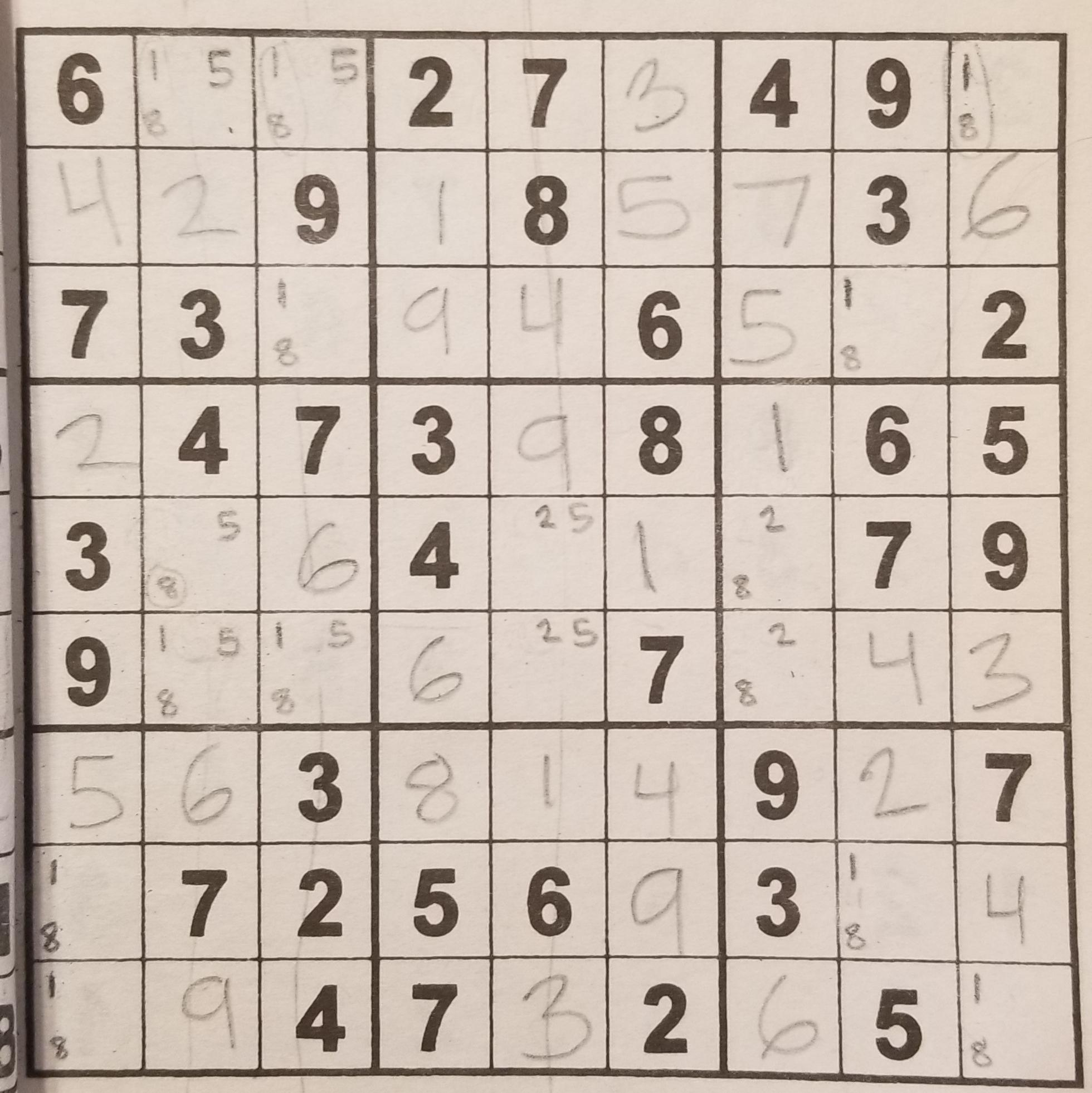 Can Someone Help Me Continue? : Sudoku