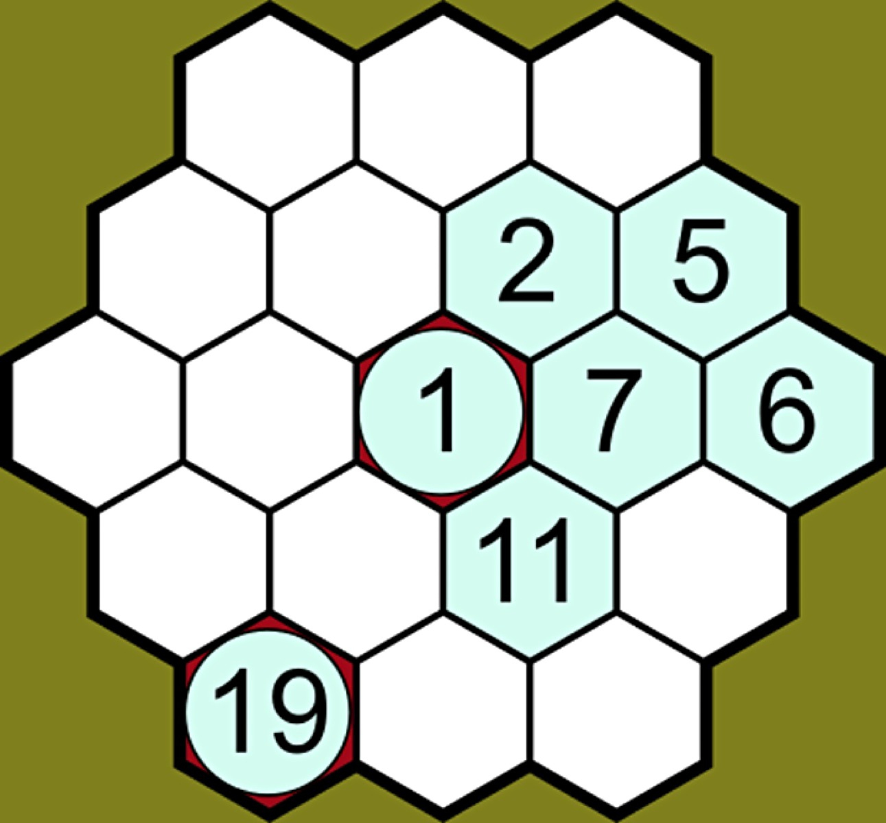 Can You Solve It? Is Beehive Hidato The New Sudoku
