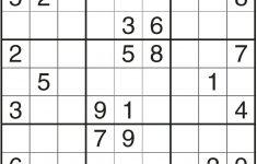 Challenging Sudoku Printable