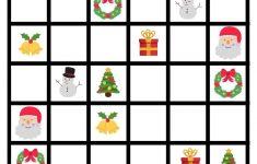 Christmas Sudoku Printable Free