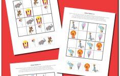 Circus Sudoku {Free Printables} – Gift Of Curiosity