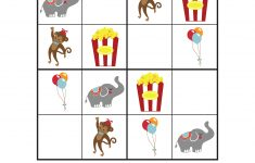 Circus Sudoku {Free Printables} – Gift Of Curiosity