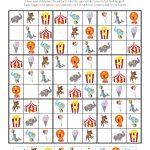 Circus Sudoku {Free Printables} | Oktatás   Kleuterklas