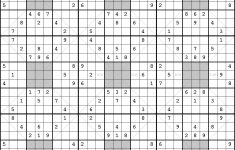 Free Printable 3d Sudoku Puzzles