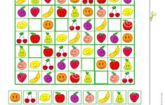 Colorful Printable Sudoku