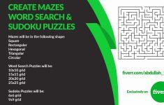 15×15 Sudoku Printable