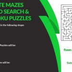 Create An Original Puzzle Book For Amazon Or Personal Use