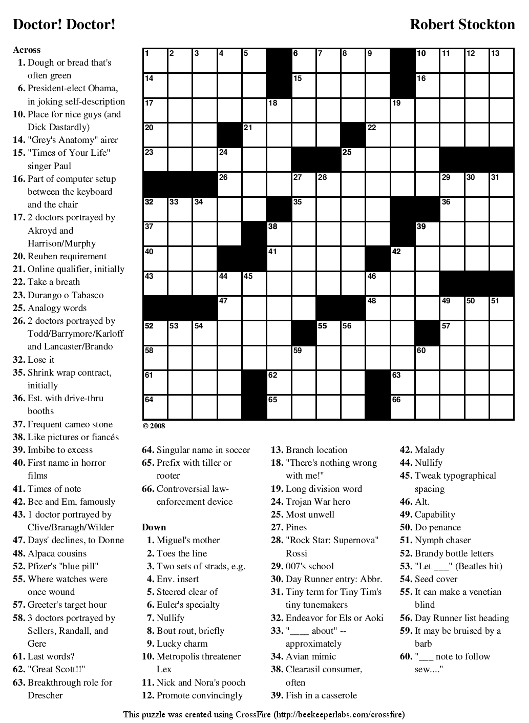 Crossword Puzzles Printable - Yahoo Image Search Results