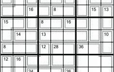 Samurai Killer Sudoku Printable