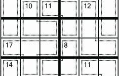 Sudoku Printable 6×6