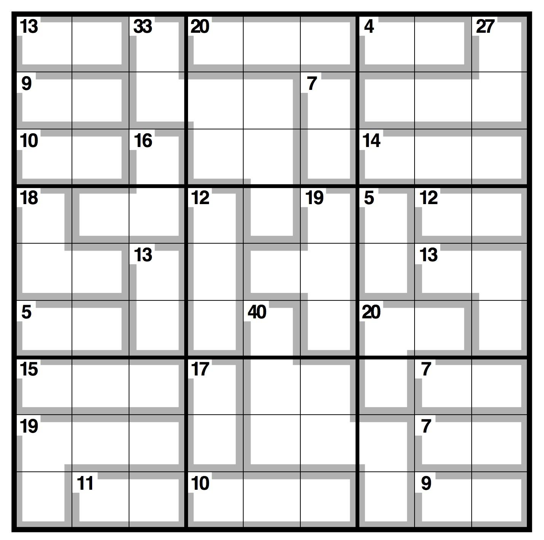 Daily Killer Sudoku | Welcome To Killer Sudoku Online. 2020