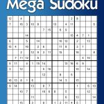 Daily Mega Sudoku 16X16 Puzzle Calendar 2015