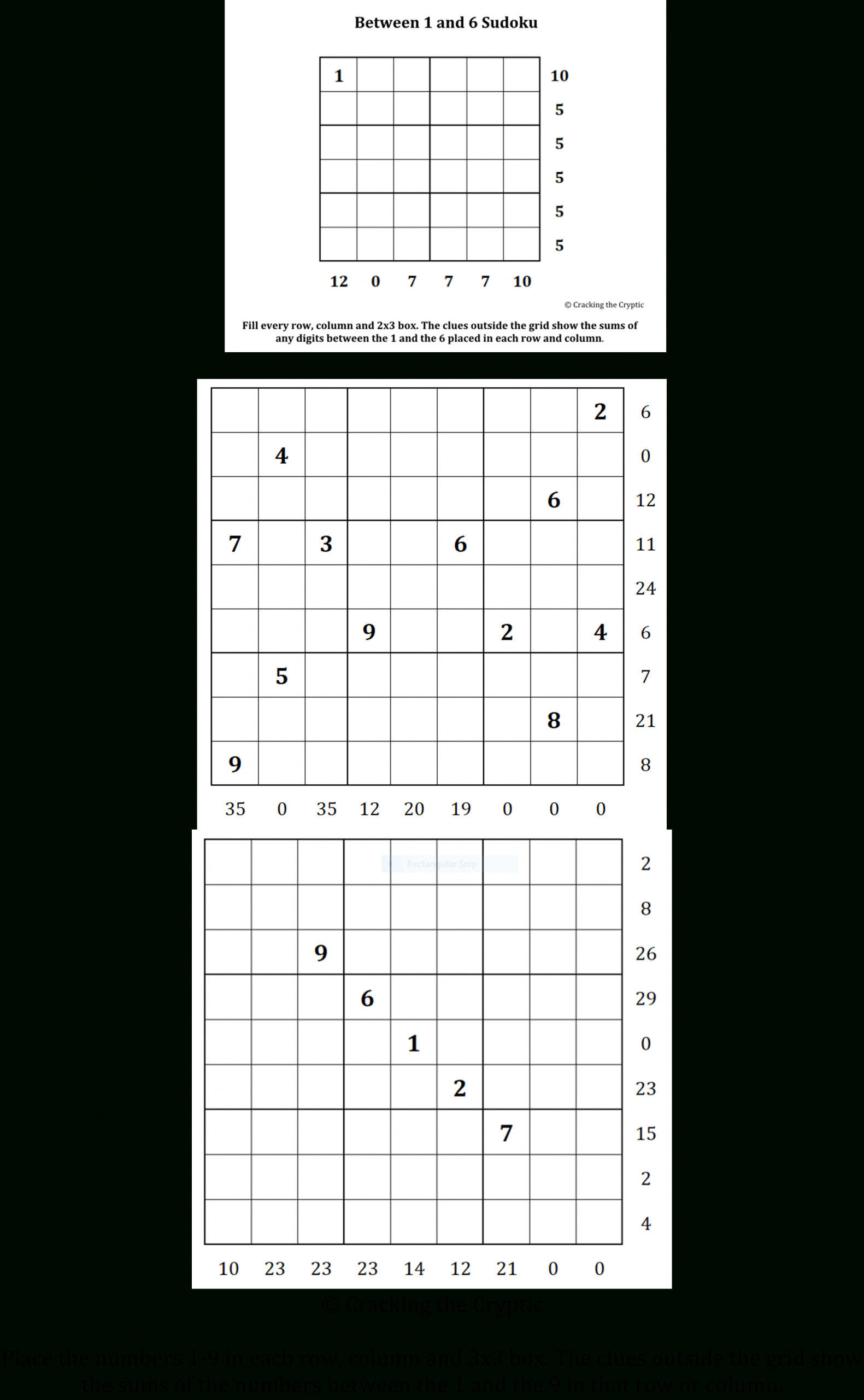 Did You Solve It? Sandwich Sudoku - A New Puzzle Goes Viral