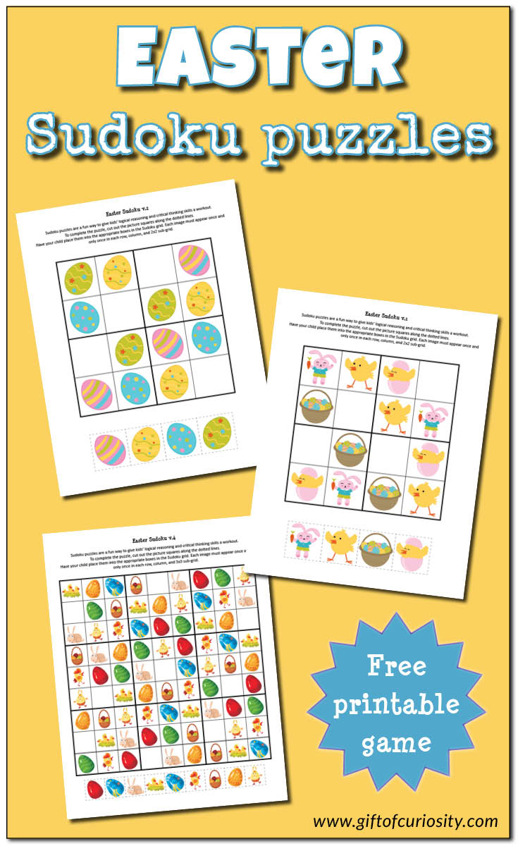 Easter Sudoku - Gift Of Curiosity