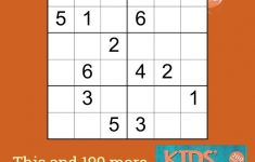 Easy 6X6 Sudoku Puzzle For Kids | Sudoku Puzzles, Puzzles