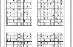 Easy Printable Sudoku – Tomope.zaribanks.co