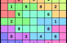 Nonomino Sudoku Printable