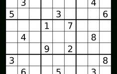Printable Empty Sudoku Grid