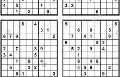Sudoku With Solution Printable